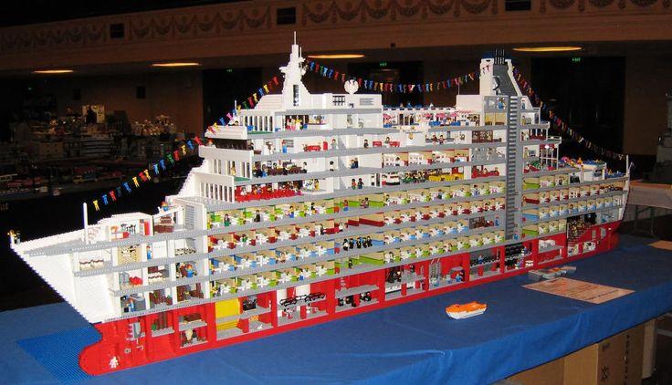 Giant Lego Ships
