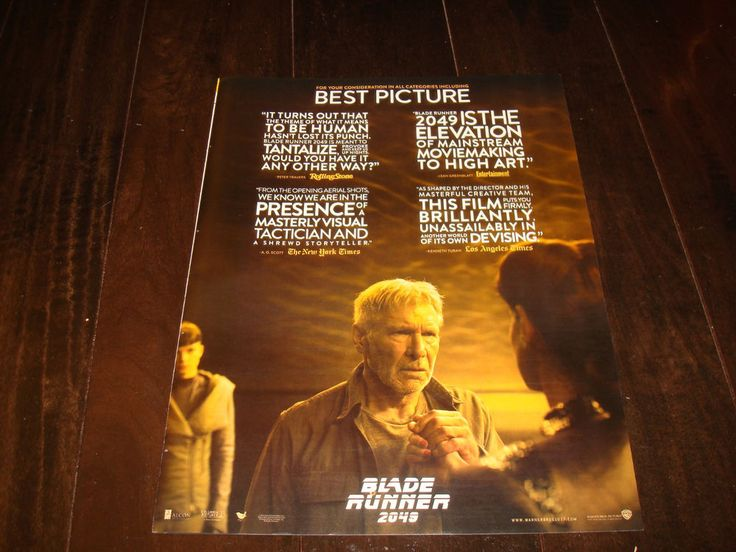 Best Harrison Ford Blade Runner Ideas On Pinterest Ford - The miniature set used for blade runner 2049 will change the way you see movies
