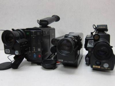DV-529BB ビクー等ビデオカメラ3台セット ジャンク - ヤフオク!   VICTOR  GR-C7 VICTOR  GR-C11 VICTOR  GR-S55