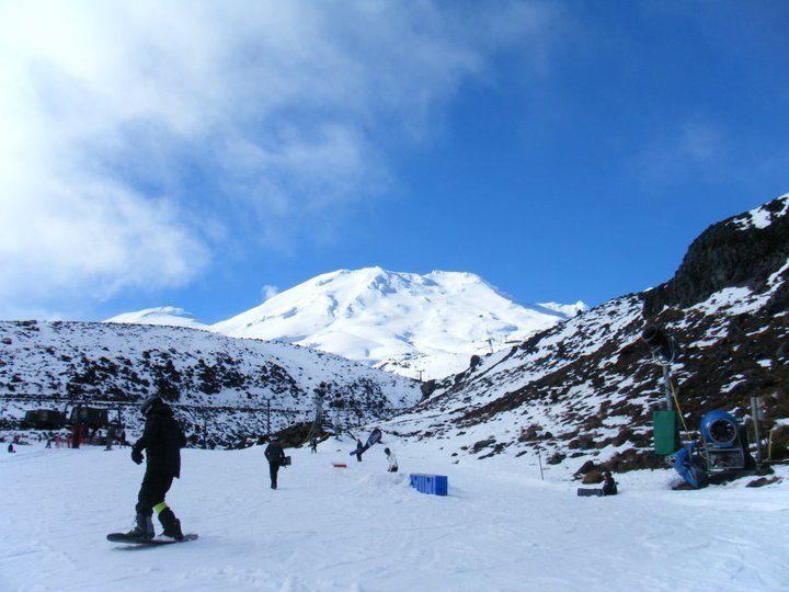 We love Mount Ruapehu