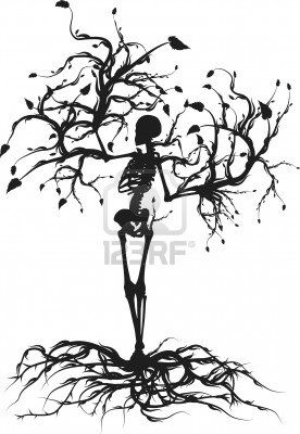 This is actually a beautiful concept. The idea that death provides life and recycling oneself back to the earth.