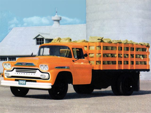 1959 Chevrolet 6400 Stake Truck Chevy Trucks Pinterest