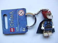 LEGO Legends of Chima Laval Keyring (item # 850608) brand new - would be good for Reilly's school bag for next year