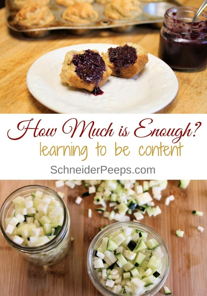 How we define enough will determine how content we are. Learn how to redefine enough for a better quality of life.