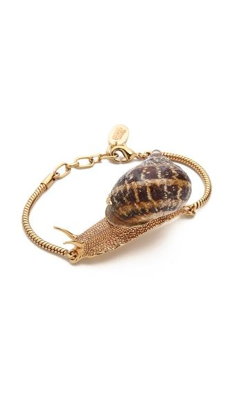 Vivienne Westwood Snail Bracelet-weird and kind of abject