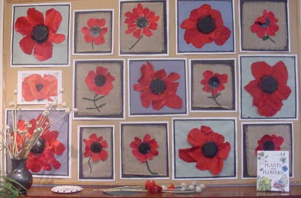 Poppy art for Remembrance day or Anzac day