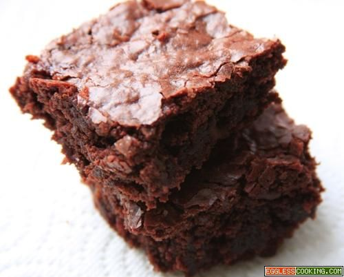 Easy Eggless Brownies | Recipe | Meals, Eggless brownie ...