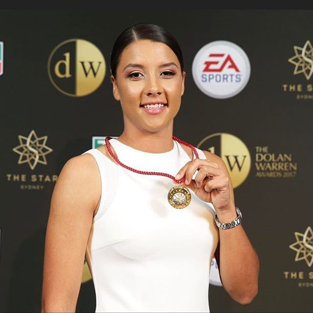 On Monday @hair_by_phd  were lucky enough to be styling at the FFA Dolan Warren Awards held at The Star Casino, Sydney. An awesome experience to work alongside  @donnygalella @inglot_australia and @schwarzkopfproanz .  .  .  Congratulations to the Gorgeous Sam Kerr! @samanthakerr20   Winner of the Julie Dolan Medal, player of the year and Goal of the year!     #hairbyphd #ffa #dolanwarrenawar...