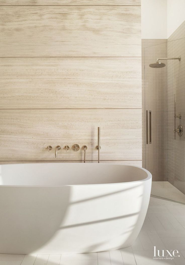 tile wall in bathroom home tour a handsome napa valley estate white bathrooms 20900