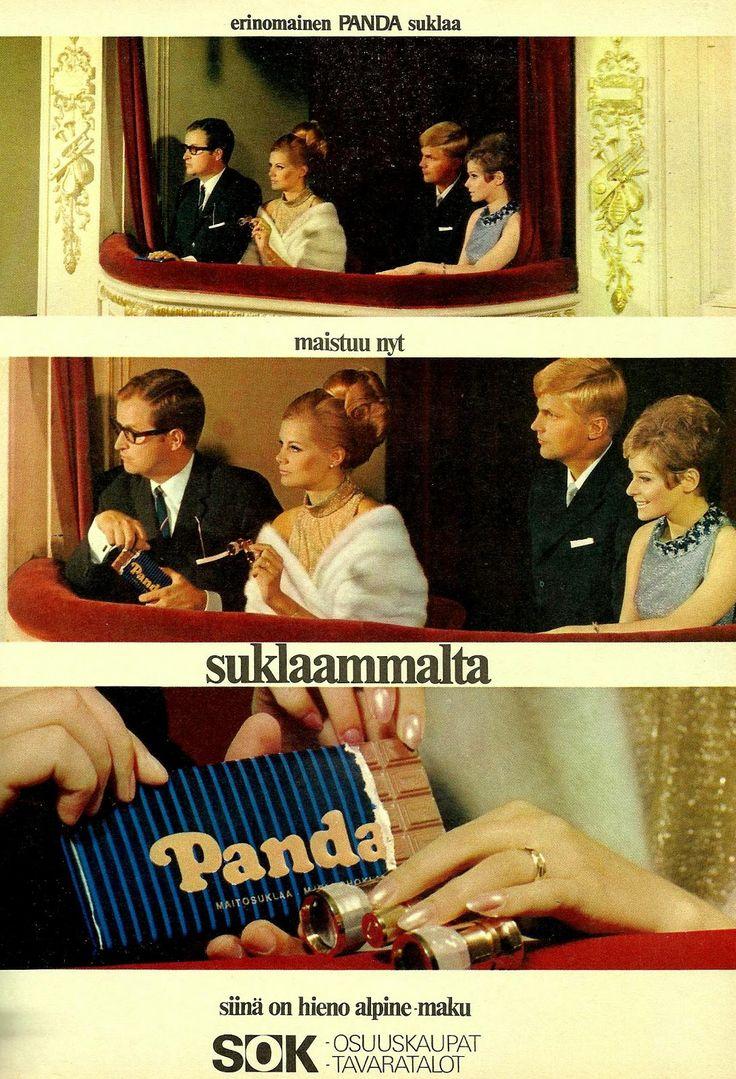 Panda suklaa (Kotiliesi 1967