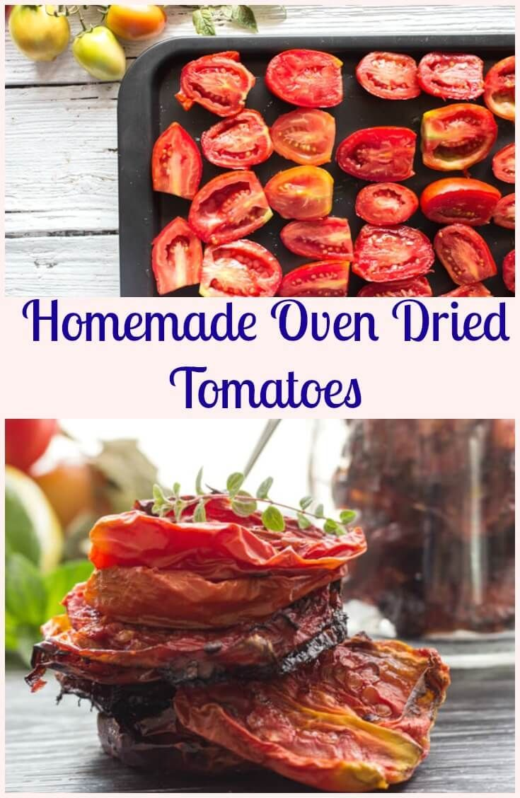 Oven Dried Tomatoes, how to make Homemade Oven Dried Tomatoes delicious and…