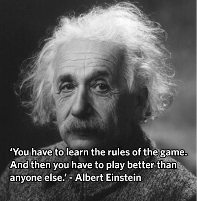 Albert Einstein Quote About Learning - QUOTES BY PEOPLE