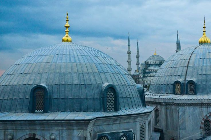 Střechy Istanbulu