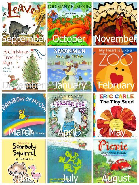 A Year of Preschool Books & Activities - Reading Confetti