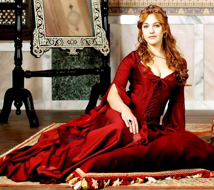 Muhtesem Yuzyil Red Dress, Hurrem Sultan
