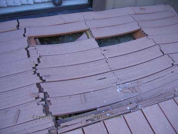 Structural Failure of Composite Decking