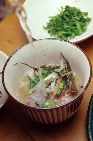 Sea Bream Chazuke 鯛茶漬け