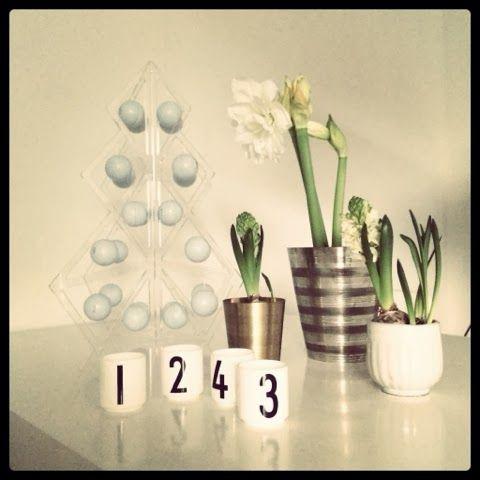 Tree24 reusable advent calendar - Acrylic  www.beandliv.com #beandliv #designfromfinland