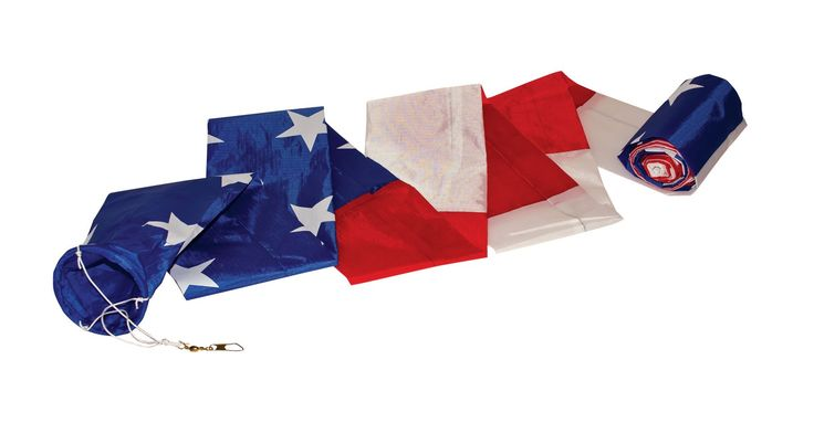 In the Breeze Patriotic Tube Kite Tail. In the Breeze item #3193 - 20-Foot Patriotic Tube Tail/Tube Windsock; Tails give a kite stability and colorful movement; Tube windsocks attached to a tall pole can be seen from far away. Tube tails are made with rip stop polyester fabric; Rip stop polyester is stain, mildew and UV resistant; Kite tails can be used on single line kites and stunt kites. The tube tail has a 3 inch wide hoop by 20 feet long. A bridle and snap swivel is attached. Tube…