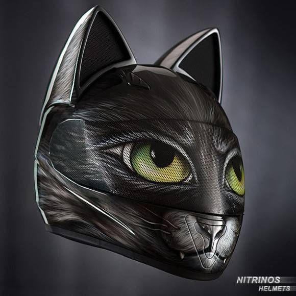 ヘルメットに猫耳があってもいいじゃない。ロシアから、猫耳ヘルメットが通販開始 - グノシー