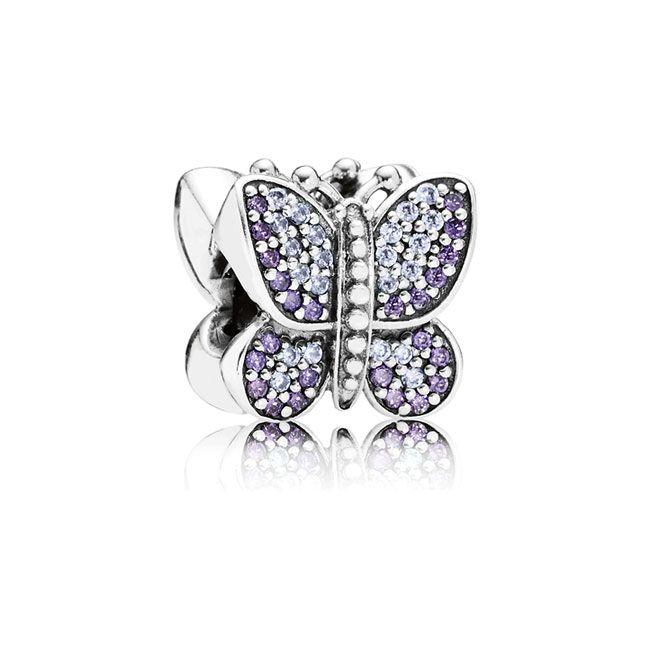 Pandora- Sparkling Butterfly, $80