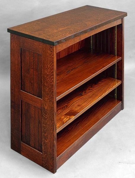 25 best ideas about mission furniture on pinterest for Craftsman style bookcase plans
