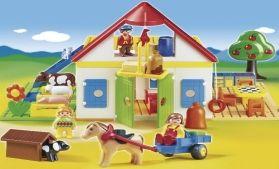 Playmobil 1.2.3 Μεγάλη Φάρμα (6750)- 49.99