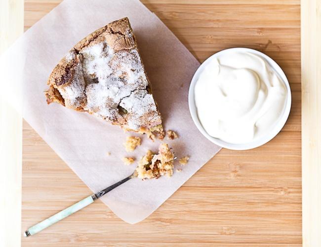 Lorna's Sour Cream Cake Recipe — Dishmaps