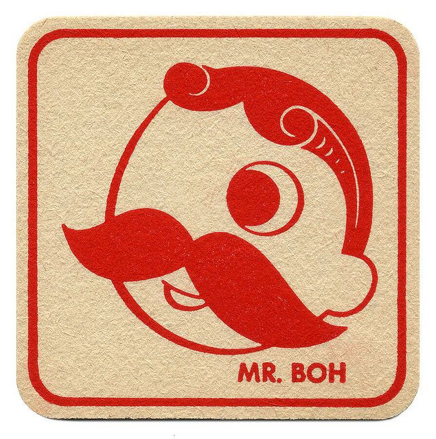 Mr. BOH. National Bohemian Beer. The National Brewing Co., Balto., MD