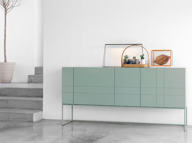 Aqua cabinet for Living room