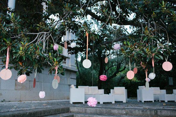Pompon colorati per un matrimonio a Sanremo | Wedding Wonderland