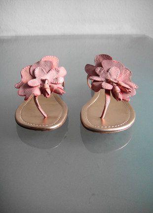 Kaufe meinen Artikel bei #Kleiderkreisel http://www.kleiderkreisel.de/damenschuhe/sandalen/149496679-car-shoe-by-prada-sandalen-pantoletten-flip-flops-zehentrenner-leder-rosa-gr-37-38