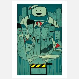 Who You Gonna Call? Print