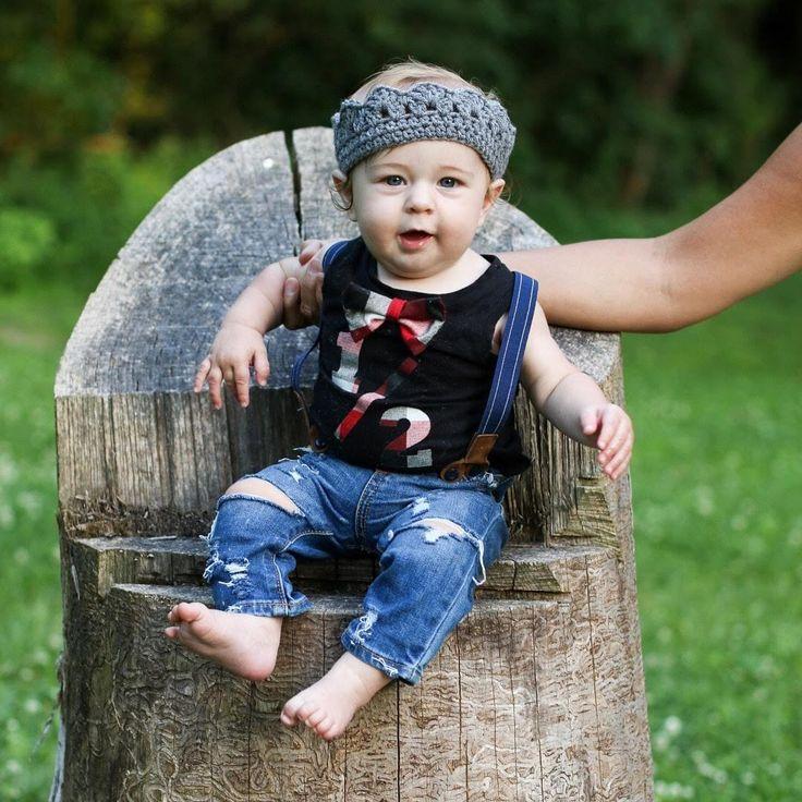 Baby Fitz Suspender Set, Baby Boy Half Birthday Photo Ideas, First Birthday Outfit, 1/2 Birthday Photos, Outfit Inspiration