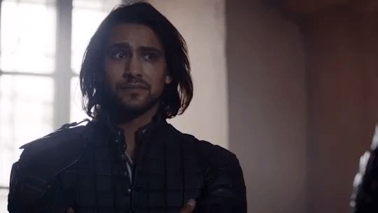 BBC First Australia luke pasqualino bbc first the musketeers d'artagnan GIF