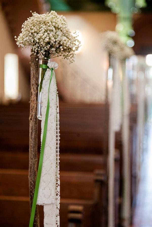 Hanna Und Jonathan Dekoration Hochzeit Kirchenschmuck