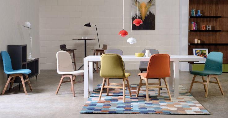 Curt Walnut Laminate Bar Table - Tables - Bryght | Modern, Mid-Century and Scandinavian Furniture
