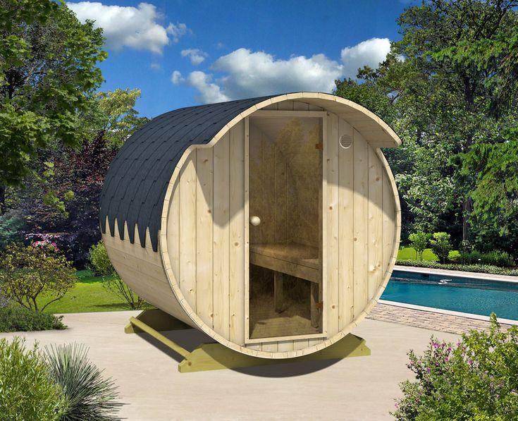 OutdoorSauna im Garten Tipps rund ums Saunahaus Sauna