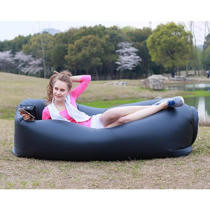 Relax In Style Our Inflatable Lounger Is Perfect For Sleeping