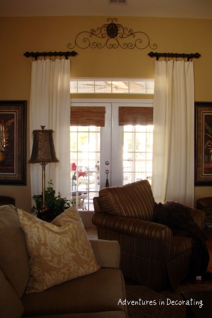 Front door window treatments - Find This Pin And More On Diy