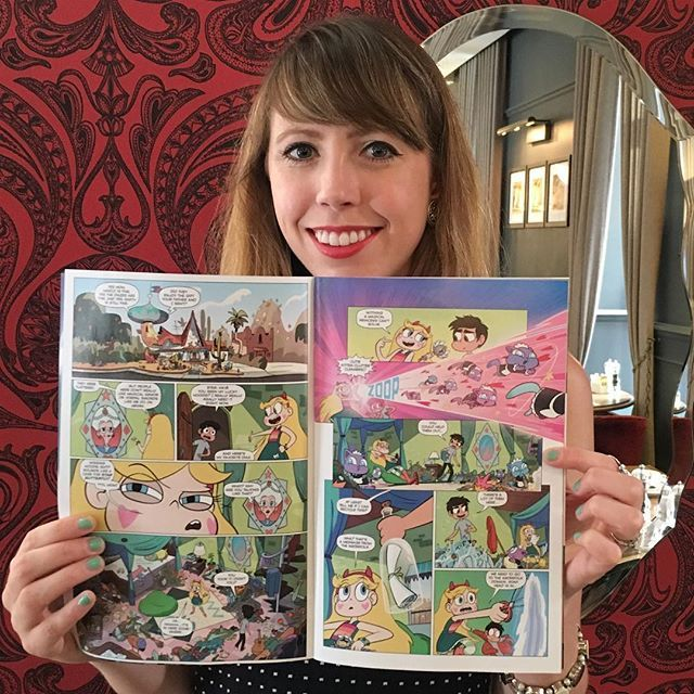 daron nefcy Just can't get over how good the art in comic is!!!
