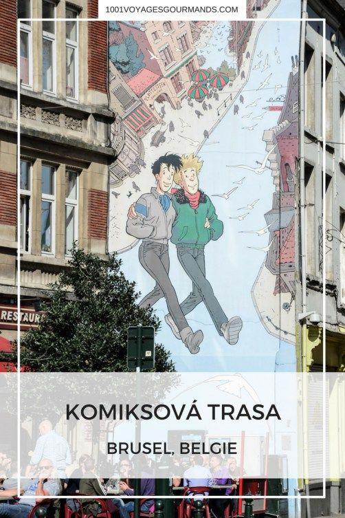 Bruselská komiksová trasa