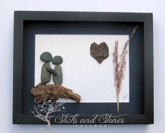 Christmas for Couple Lover's Gift Personalized by SticksnStone