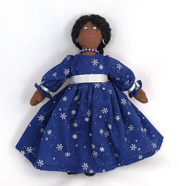 African American Doll  One Of A Kind Art Doll  Toy Doll