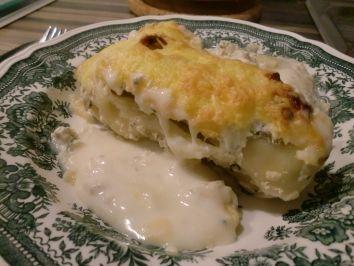 Lachs-Frischkäse Cannelloni