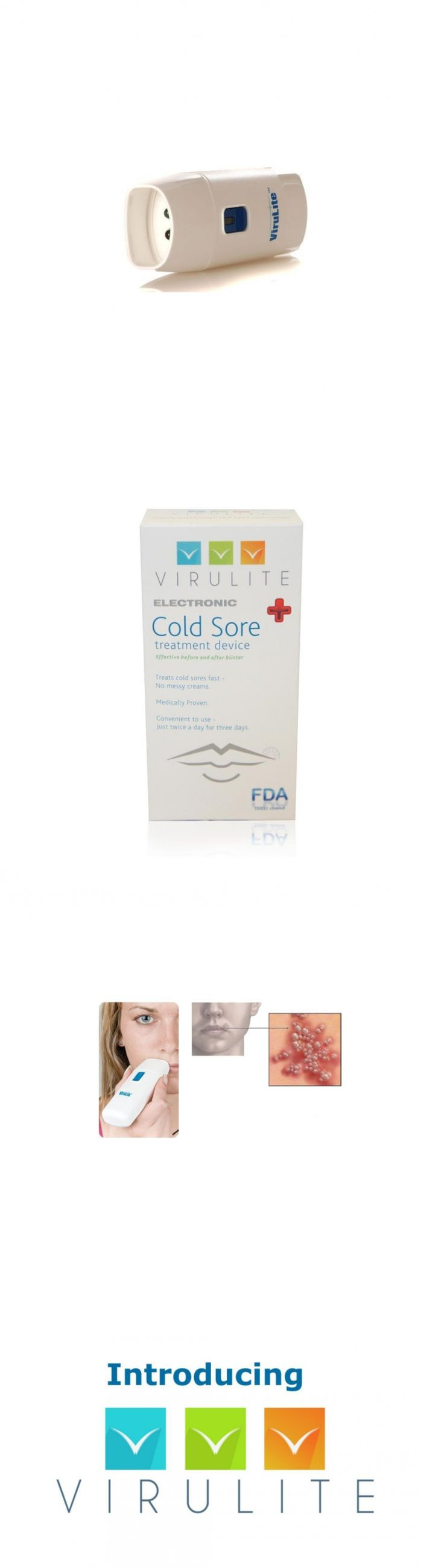 Cold Sores: Virulite Fda Approved Electronic Cold Sore Treatment Device 1 Ea -> BUY IT NOW ONLY: $104.82 on eBay!