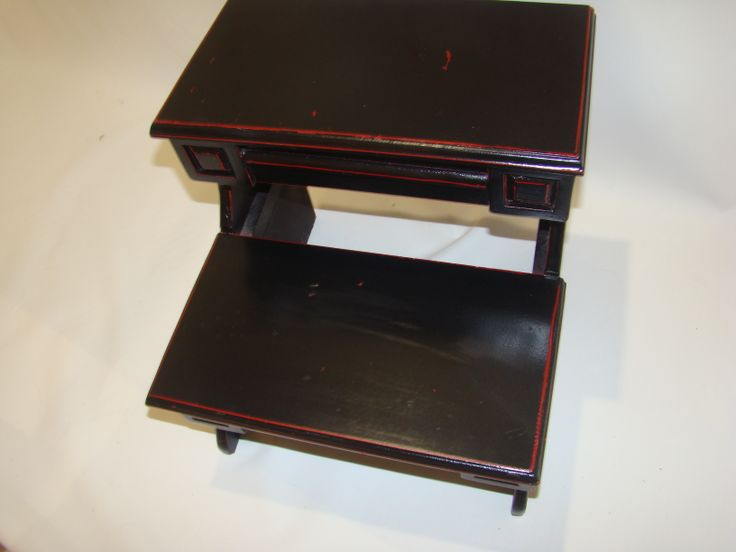 Oriental step stool, $50, Item #CS-1002, Sold; for similar items visit : http://www.findandtreasure.com/catalogue.html