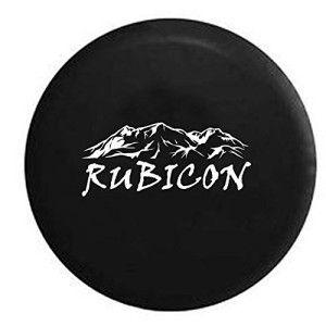 Rocky Mountain Rubicon Edition Jeep Spare Tire Cover