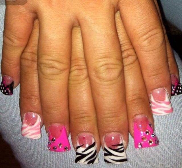 25 best ideas about flare acrylic nails on pinterest for Acrylic toenails salon