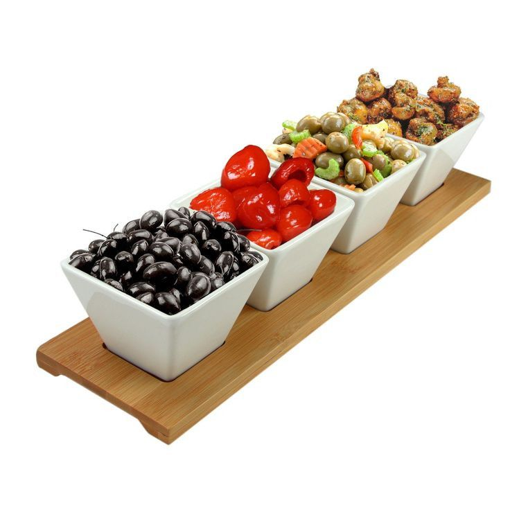Now available @Perhai 5pc Appetizer and Condiment Server Set Check it out here! 5pc Appetizer and Condiment Server Set